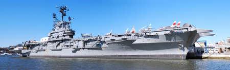 NEW YORK CITY - Nov 2: USS Intrepid (CV/CVA/CVS-11), also known as The Fighting