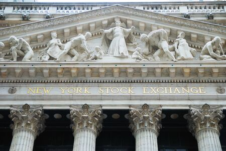nasdaq: NEW YORK CITY - JAN 1: New York Stock Exchange in Manhattan Wall Street Finance district during United States economy recovery, January 1, 2010 in Manhattan, New York City.