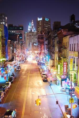 ニューヨーク市 - 8 月 7 日: マンハッタンのチャイナタウン、コミュニティの 1 つ、最大かつ最古民族中国アジアの外マンハッタン、ニューヨーク市