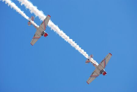 jones: JONES BEACH - MAY 30: Group of flying aircraft on Jones Beach Air Show on May 30, 2010 in Jones Beach, New York.  Editorial
