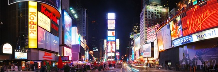 times: NEW YORK CITY - SEP 5: Times Square, featured with Broadway Theaters and huge number of animated LED signs, is a symbol of New York City and the United States,  September 5, 2009 in Manhattan, New York City.