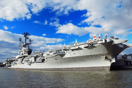 NEW YORK CITY - Nov 2: USS Intrepid (CV/CVA/CVS-11), known as The Fighting