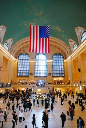 NEW YORK CITY - AUG 8: Grand Central is the second busiest station of the New York City Subway system with 42,002,971 passengers in 2009. August 8, 2010 in Manhattan, New York City.  Stock Photo - 8645035