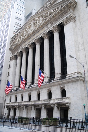 stock: NEW YORK CITY, NY - AUG 8: Wall Street New York Stock Exchange is the worlds largest stock exchange by market capitalization of its listed companies. August 8, 2010 in Manhattan, New York City.
