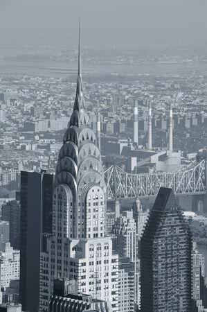 NEW YORK CITY, NY, USA - NOV 7: Chrysler Building in midtown Manhattan on November 7, 2011, New York City. Chrysler Building was designed by architect William Van Alena as Art Deco architecture in US.