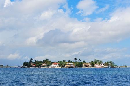 Luxury house on Hibiscus Island in downtown Miami, Florida. photo