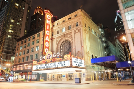 CHICAGO, IL - Oct 6: Chicago Theatre interior on October 6, 2011 in Chicago, Illinois. Built in 1921, Chicago Theatre was the flagship for the B&K group and was listed as a Chicago Landmark in 1983. Editorial