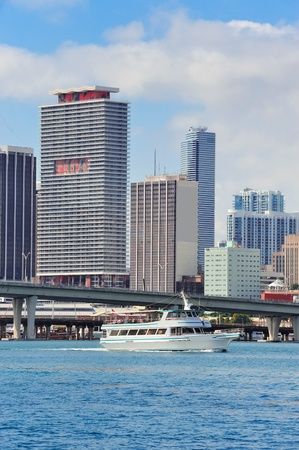Urban city architecture. Miami downtown in the day. Stock Photo - 14115328