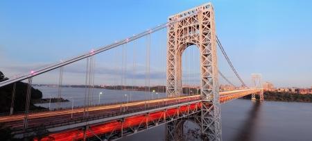 george washington: Puente de George Washington panorama