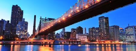 queensboro bridge: Queensboro Bridge and Manhattan