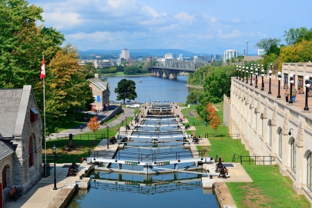 ottawa: Rideau Canal and Ottawa city view