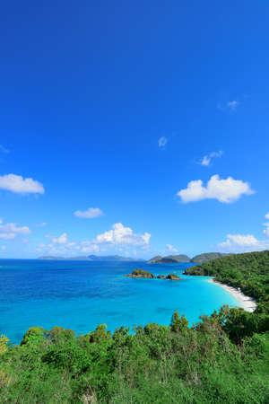 st john: Colorful beach in St John, Virgin Island