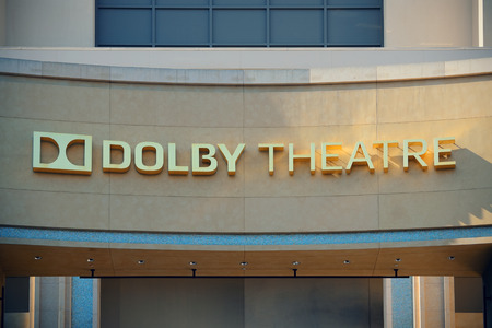 dolby: Los Angeles, CA - MAY 18: Hollywood Dolby Theatre interior on May 18, 2014 in Los Angeles. Started as a small community, it evolved into the home of world famous film industry