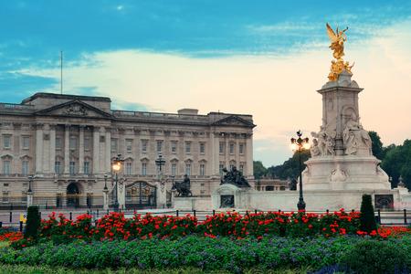 Buckingham Palace in the morning in London. Editöryel