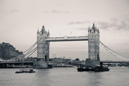 thames: Tower Bridge over Thames River as the city landmark..