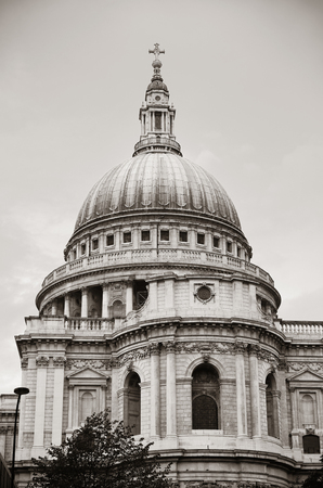 st  paul's: St Pauls Cathedral closeup in London.
