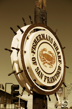 western united states: San Francisco, CA - MAY 11: Fishermans Wharf pier on May 11, 2014 in San Francisco. It is one of the busiest and well known tourist attractions in the western United States Editorial