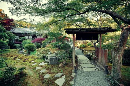 tea house: Una casa da t� a Kyoto in Giappone.