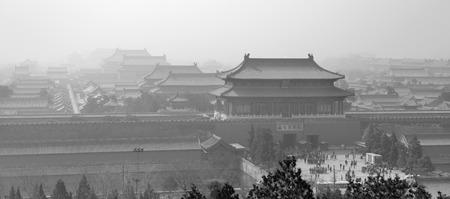historical architecture: Historical architecture in Forbidden City in Beijing, China. Editorial
