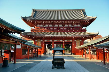 bouddha: Sensoji Temple à Tokyo au Japon.