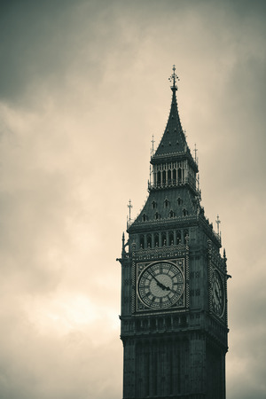 westminster: Big Ben closeup in Westminster, London.