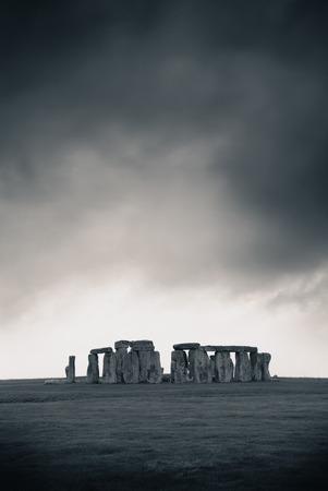 stonehenge: Stonehenge near London as the National Heritage site of UK.