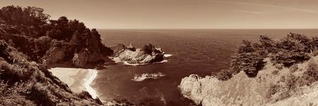 big sur: Seascape in Big Sur in California.