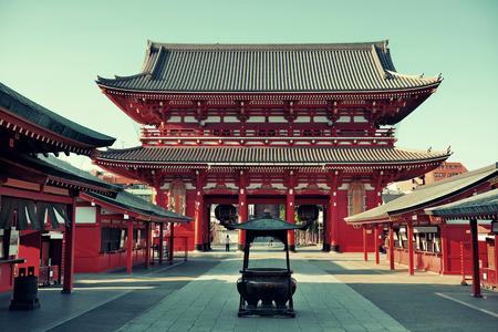 東京の浅草寺。 報道画像