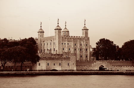 london tower: London tower at Thames River water front Editorial