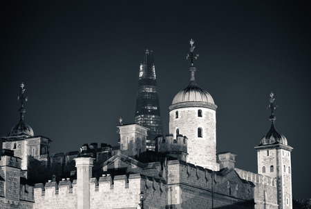 london tower: Historical building London Tower as the famous landmark in UK Editorial