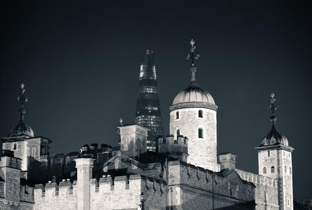 historical landmark: Historical building London Tower as the famous landmark in UK Editorial