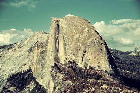 half dome: Half Dome in Yosemite National Park.