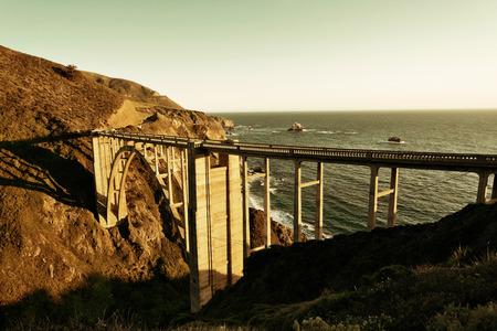 bixby: Bixby Bridge as the famous landmark in Big Sur California.