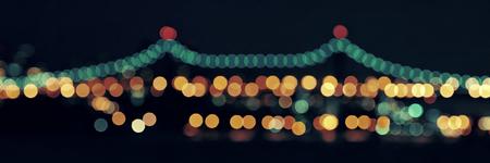 queensboro bridge: Queensboro Bridge bokeh at night
