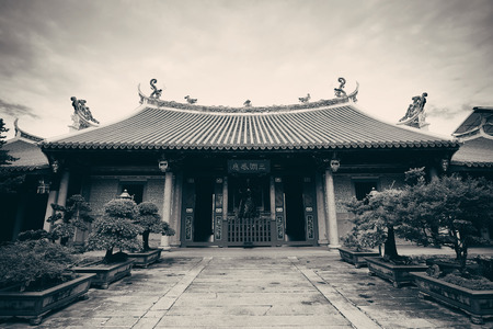 Chinese Buddhism temple in Singapore Banco de Imagens