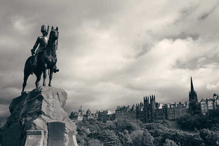 greys: The Royal Scots Greys Monument in Edinburgh.