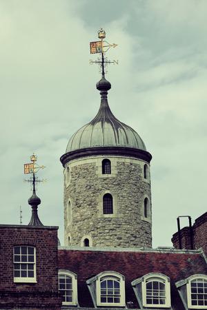 london tower: London Tower closeup as the famous historical landmark