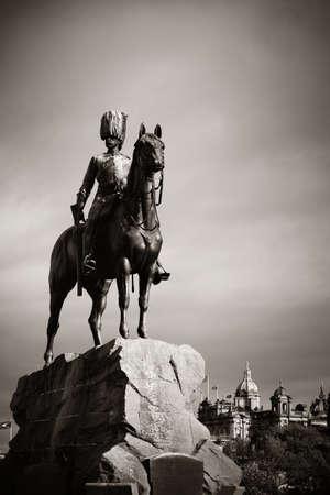 greys: The Royal Scots Greys Monument in Edinburgh.