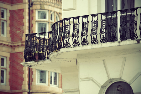 historical architecture: Urban historical architecture in street in London.