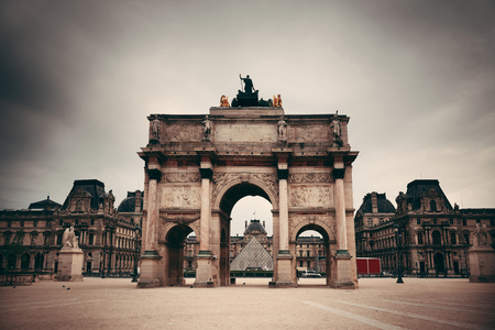 french doors: Historical buildings in Paris France. Editorial