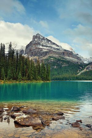 Lago O'Hara, Parque Nacional Yohu, Canadá.