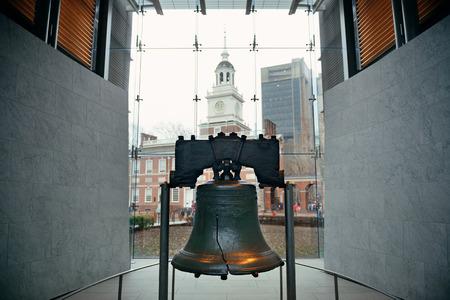 필라델피아의 리버티 벨 (Liberty Bell)과 독립 기념관 (Independence Hall)
