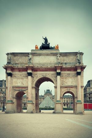 historical buildings: Historical buildings in Paris France. Stock Photo