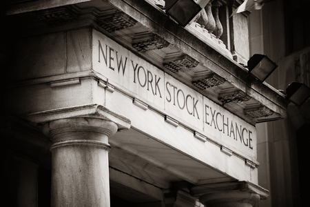 nasdaq: NEW YORK CITY - SEP 5: New York Stock Exchange closeup on September 5, 2014 in Manhattan, New York City. It is the worlds largest stock exchange by market capitalization of its listed companies. Editorial