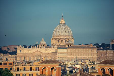 vatican city: Vatican City St Peters Basilica.