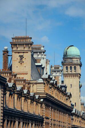 historical architecture: Historical architecture roof in Paris