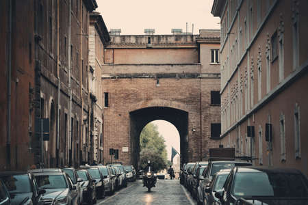 Street view in Vatican City Editorial