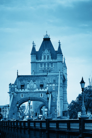 Tower Bridge closeup in London.
