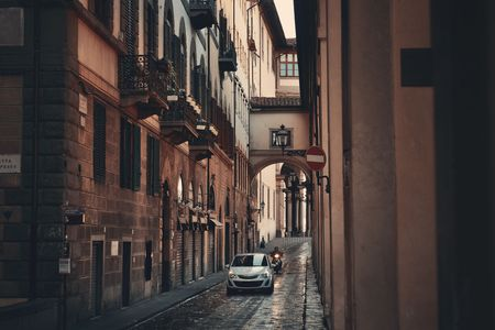 Street view in Florence, Italy Stockfoto