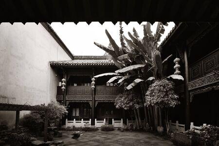 Old buildings closeup in Chongqing China